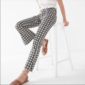 Urban Outfitters High Rise Houndstooth Pants 30
